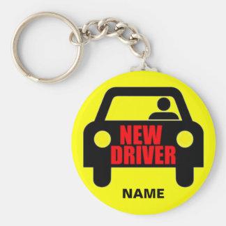 Custom New Driver Safety Key Ring