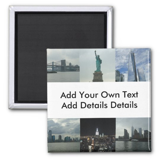 Custom New York Manhattan Business Event Magnet