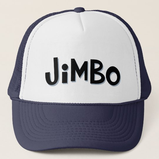Custom nickname JIMBO Cap