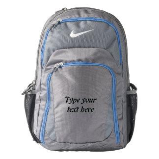 Custom Nike Performance Backpack, Dark Grey/Blue Backpack