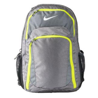 Custom Nike Performance Backpack, Dark Grey/Volt Backpack