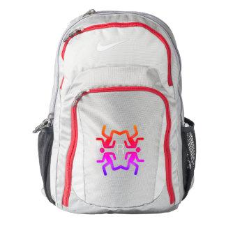 Custom Nike Performance Backpack, Grey/ Red Backpack