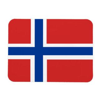 Custom Norwegian Flag (Norske Flagg) Magnet