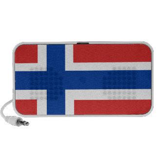 Custom Norwegian Flag (Norske Flagg) Portable Speakers