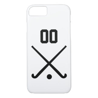 Custom Number Team Field Hockey iPhone 7 Case