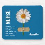 Custom Nurse's Name Gift Mousepad