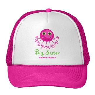 Custom Octopus Big Sister s Name Cap