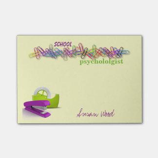 Custom Office-Themed School psychologist Notes