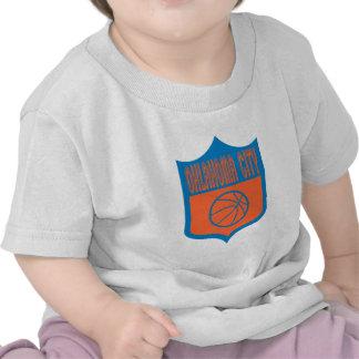Custom Oklahoma City Shield Design Tshirt
