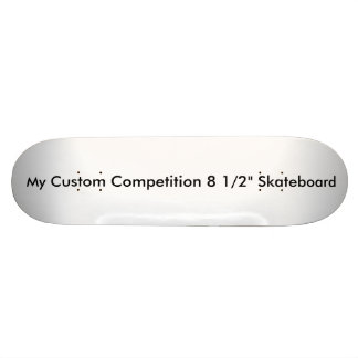 "Custom 'Old Skool' 8 1/2"" Skateboard"