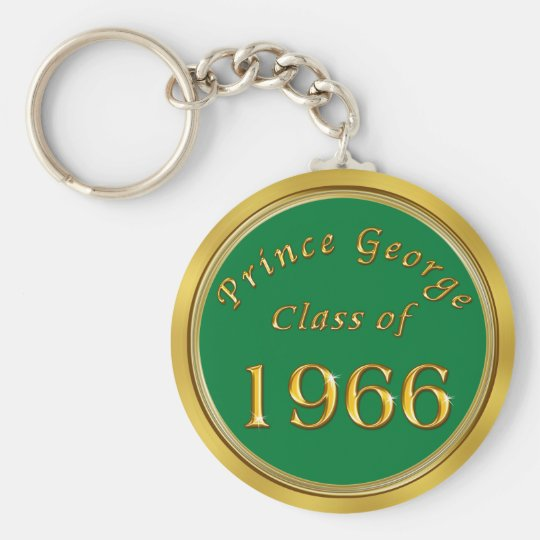 Custom Order 50th Class Reunion Favours, Keychains
