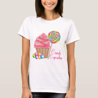 Custom Order For Candace- Candi Cupcakes T-Shirt