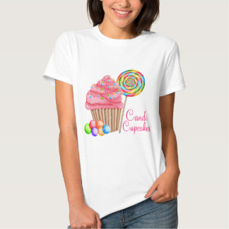 Custom Order For Candace- Candi Cupcakes Tshirts