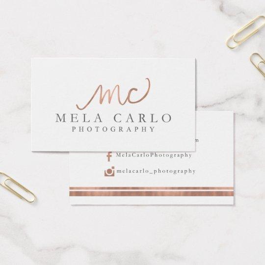 Custom Order for Mela Business Card