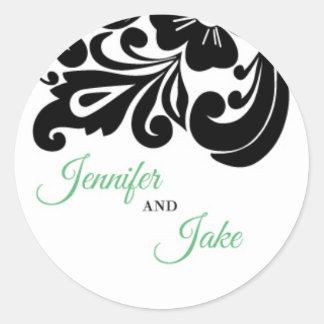 Custom Order - Jenn Classic Round Sticker