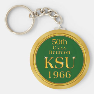 Custom Order Your Class Reunion Party Favors Basic Round Button Key Ring