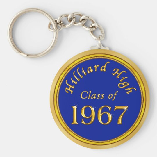 Custom Order YOUR Class Reunion Souvenirs Key Ring