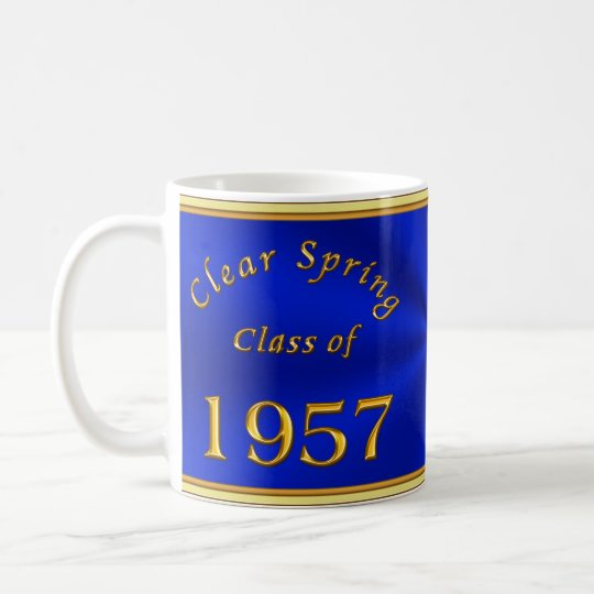 Custom Order Your High a School Reunion Gifts Coffee Mug