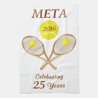 Custom Order Your Personalized Tennis Team Gifts Tea Towel