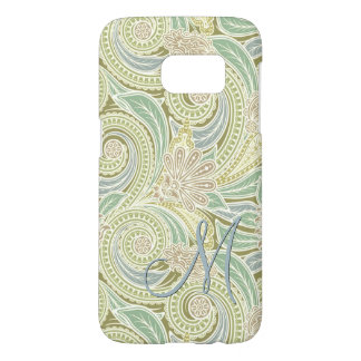 Custom Ornate Chic Pastel Paisley Floral Pattern