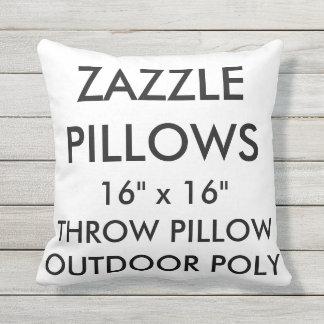Custom Outdoor Throw Pillow Blank Template