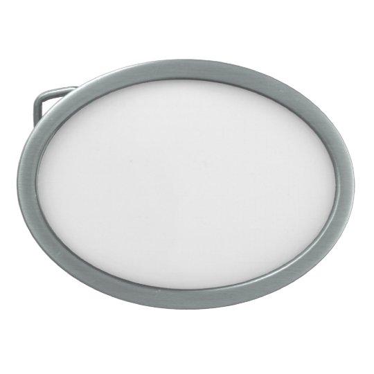 Oval Belt Buckle