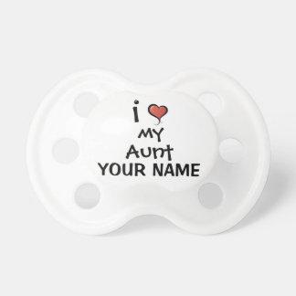 Custom Pacifier Love My Aunt
