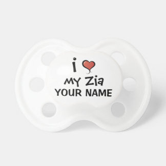 Custom Pacifier Love My Zia