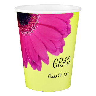 Custom Paper cups for Graduation