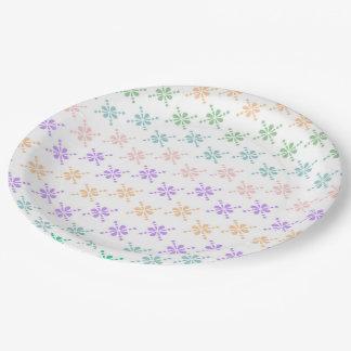 "Custom Paper Plates 9"" 9 Inch Paper Plate"