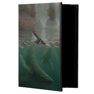 Custom Peaceful Humpback Whale Art iPad 2 Air Case