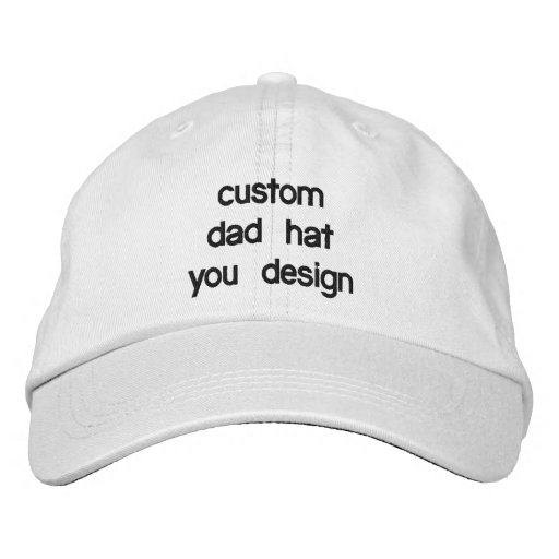 Custom Personalised Adjustable Dad Hats