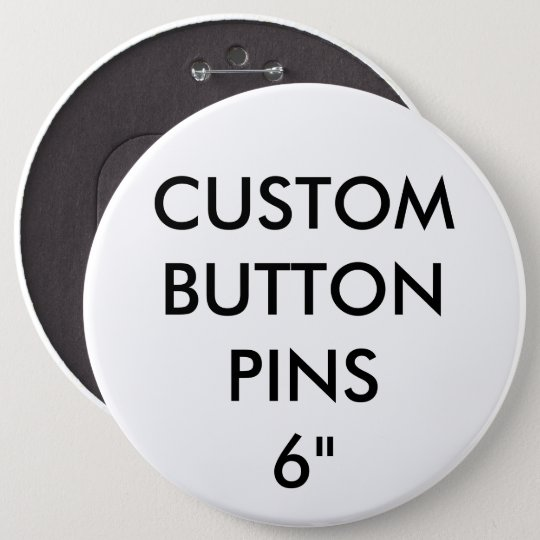 Custom Personalised Button Pin Badge Blank