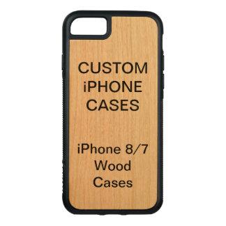 Custom Personalised Cherry Wood iPhone 8/7 Case