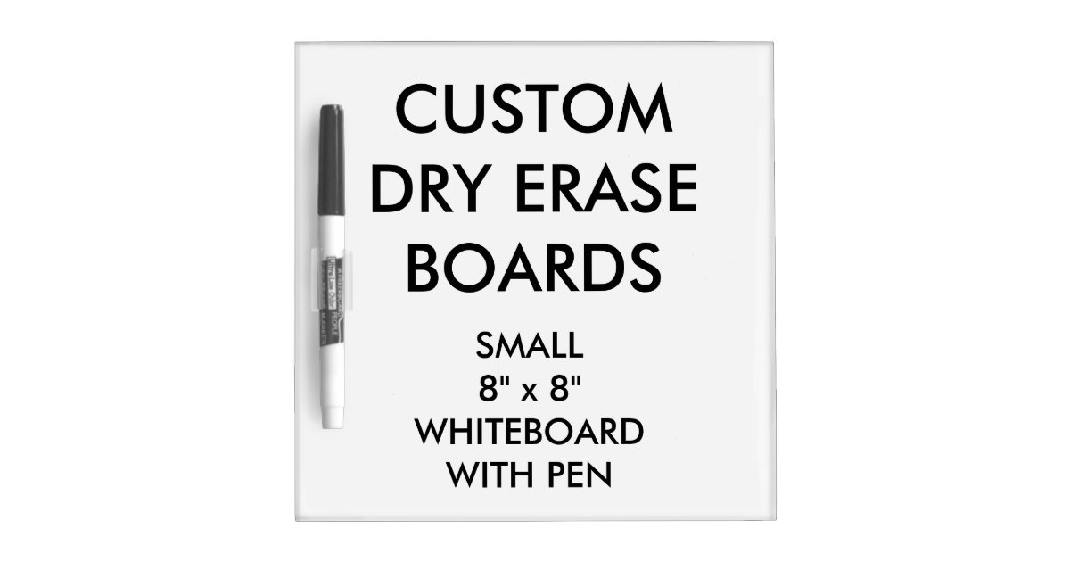 Custom Personalised Dry Erase Board Blank Template