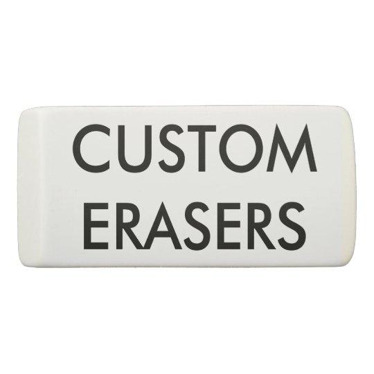 Custom Personalised Eraser Blank Template