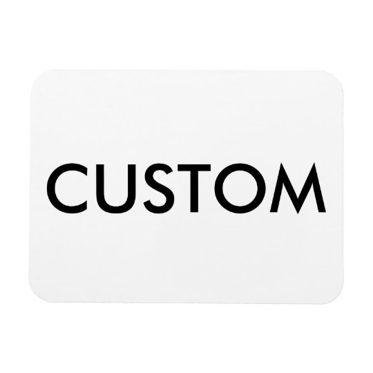 Custom Personalised Fridge Magnet Blank Template