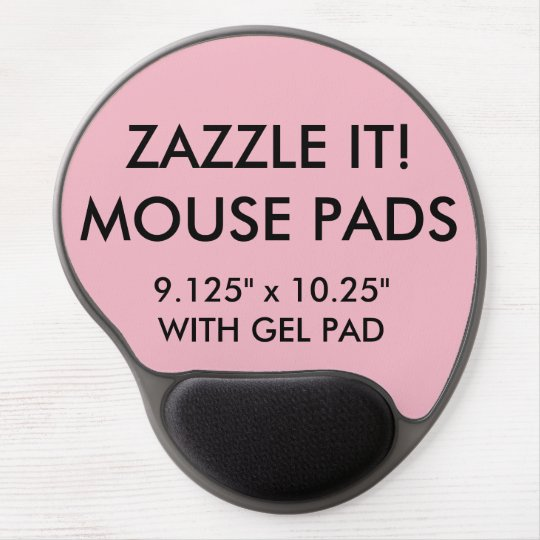 Custom Personalised Gel Mouse Pad Blank Template