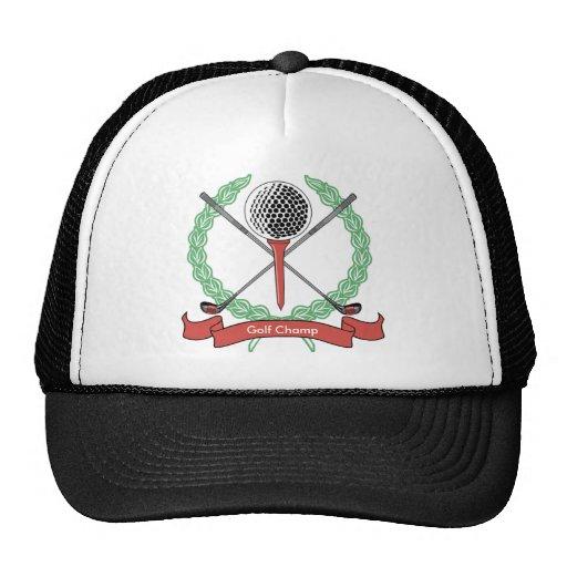 Custom Personalised Golf Hats