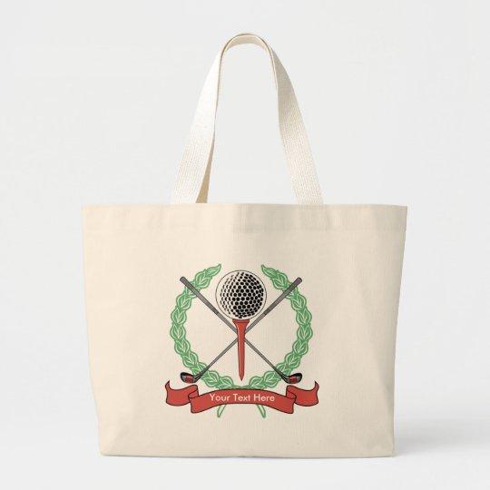 Custom, Personalised Golf Tote Bags