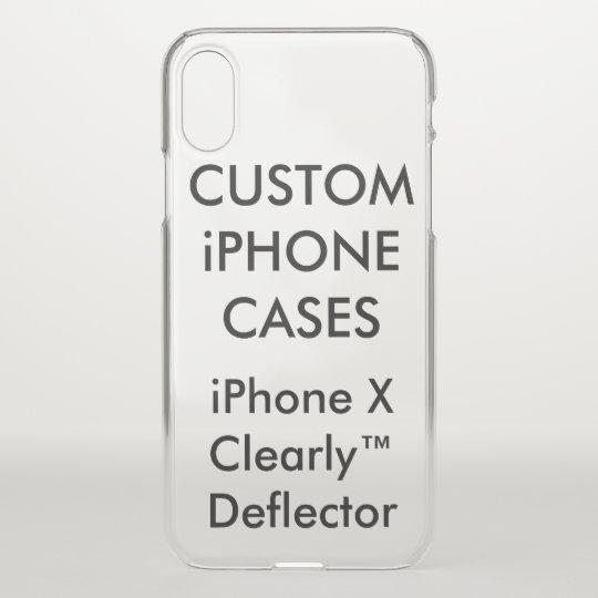 Custom Personalised iPhone X Case Blank Template | Zazzle.co.uk