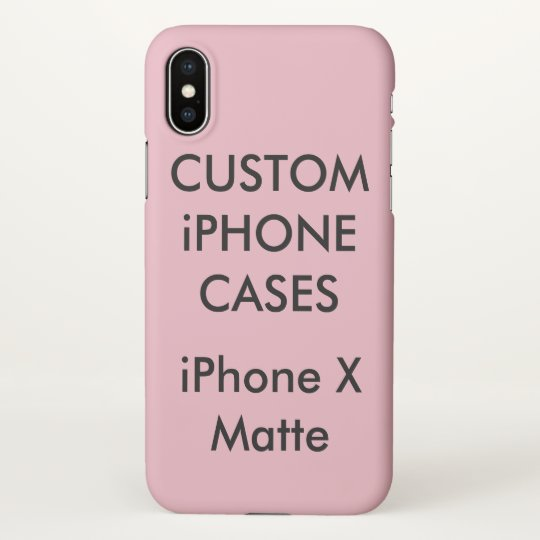 Custom Personalised IPhone X Case Blank Template