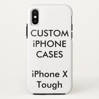 Custom Personalised iPhone X Tough Hard Shell Case
