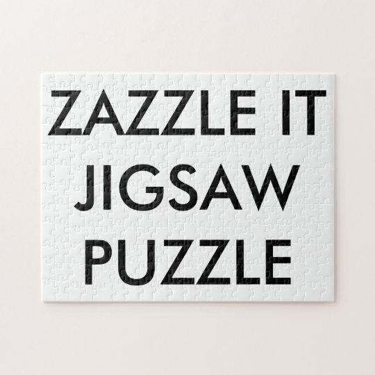 Custom Personalised Jigsaw Puzzle Blank Template