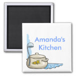 Custom Personalised Kitchen Magnets