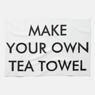 Custom Personalised Kitchen Tea Towel