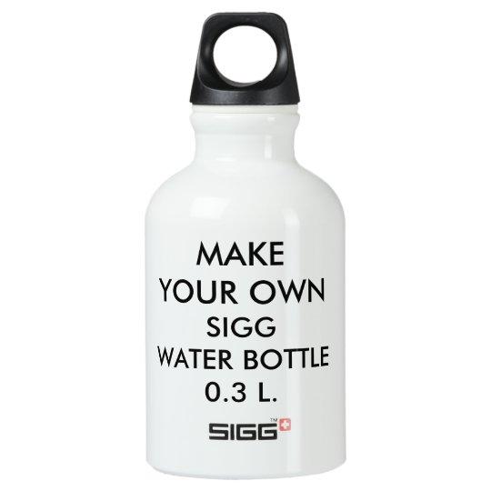 Custom Personalised Large 0.3 L. Sigg Water Bottle