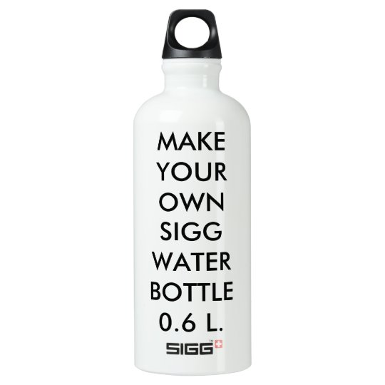 Custom Personalised Large 0.6 L. Sigg Water Bottle