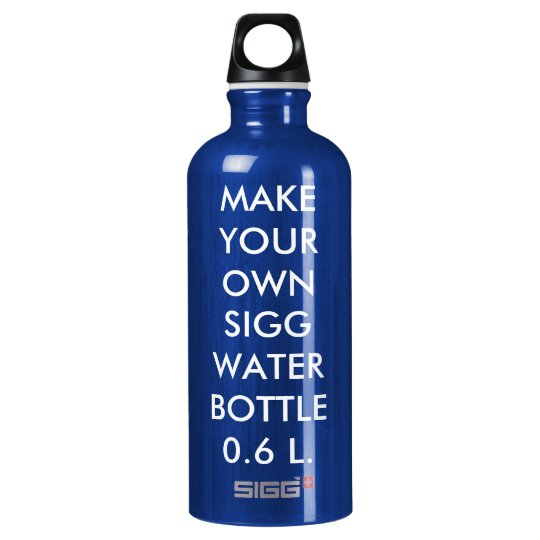 Custom Personalised Large 0.6 L. Sigg Water Bottle