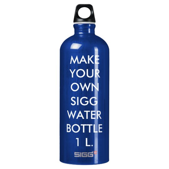 Custom Personalised Large 1 L. Sigg Water Bottle